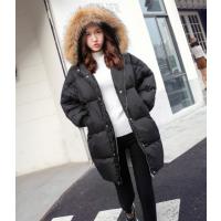 便宜冬季大衣羽绒服外套批发双面呢大衣便宜清仓中长款羽绒服清货白鸭绒