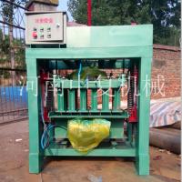 厂价直销空心水泥免烧成型花砖机 中复小型制砖机械设备价格