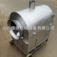 干货食品炒货机 花生坚果碳加热炒货机 价格 振德 炒锅