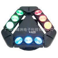 DHL ART 9*10W无极旋转LED光束灯|SPC910CL蜘蛛灯|DJ摇头效果灯|九头蜘蛛灯
