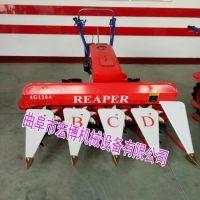 苜蓿收割机型号 小型手扶带动割晒机 80-1.2米手扶带动割晒机