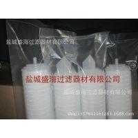 1016mm-1000mm-40寸pp折叠膜滤芯 江苏微孔折叠膜滤芯厂家