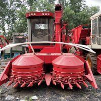 大型圆盘式秸秆靑储收割机 牧草粉碎收割回收一体机