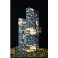 腾讯滨海大厦1:100专业沙盘建筑房地产柜内***有影响力的公司