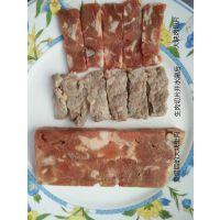 河北天烨重组肉卷原料肉片碎肉重组技术