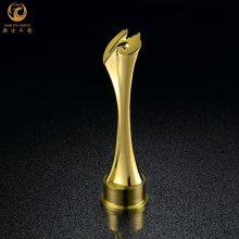 撸起袖子干奖杯| 上海概念奖杯定制|金属开模奖杯制作|企业员工奖杯