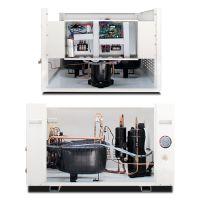 新零科技家庭地源热泵原理家用水源热泵机组价格酒店宾馆地暖洗浴专用污水源热泵
