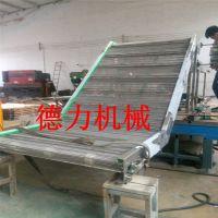 食品生产爬坡网带输送线 辊道输送机污泥刮板输送机