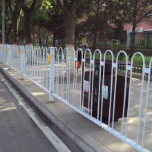梅州京式栅条人行道围栏现货 非机动车隔离栏杆 茂名市政防护栏