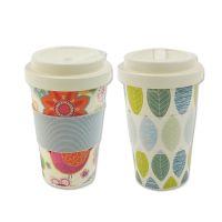 雷力供应植物纤维杯 竹纤维杯 奶茶水杯 咖啡杯 植物杯 茶杯 谷糠水杯