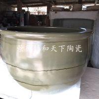 成人圆形泡澡缸陶瓷沐浴小型家用配件泡澡独立式家用老年人浴缸