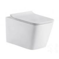 隐藏式安装入墙方形挂式嵌入式陶瓷大马桶