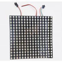 P10 16*16像素屏 WS2812B黑色RGB5050幻彩可编程柔性像素屏