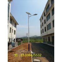 湖南永州宁远县30-60W LED 24V路灯厂家批发乡村太阳能路灯安装