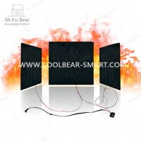 KUBEAR炭纤维发热片|发热服发热系统|发热模组|电暖服饰|远紅外服裝加热片-S