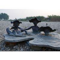 广东原著玻璃钢人物雕塑厂家订制广场公园摆件乡下孩童的乐趣主题雕塑