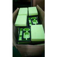 绿色eva雕刻内衬 PE复合eva包装盒 箱包内托 东莞厂家