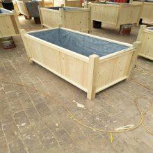 优惠销售花草箱规格型号,实木组合花箱量大送货,生产制造厂家