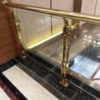 龙泰梯业供应镜光不锈钢楼梯立柱 不锈钢扶手价格多少