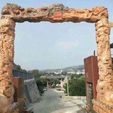 农村村口牌坊精雕细刻 石头牌坊金玉雕刻厂厂家