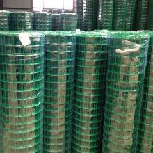 绿色塑料皮铁丝网 养鸡围栏网价格 铁丝网护栏