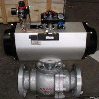 Q641F 气动浮动式球阀 防爆气动球阀 Q641F-64C 永嘉巨远阀门厂