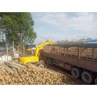装高5.2米的轮式抓木机价格