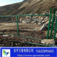 道路防护围栏 铁路防护网 浸塑铁丝网栏