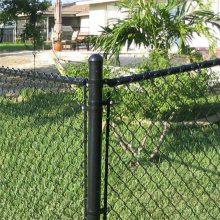 篮球场围网 机械设备防护网 镀锌斜方网