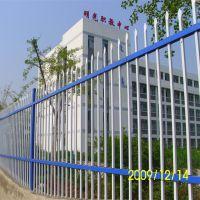 海泽供应学校围墙护栏 插拔式方管锌钢护栏 量大从优