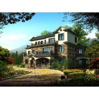 南阳简中式建筑 南阳别墅设计 安阳著名建筑设计公司