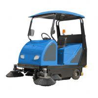 山西矿区驾驶式扫地车清扫灰尘石子矿渣用迅之洁XZJ-1800 带顶棚电动扫地机