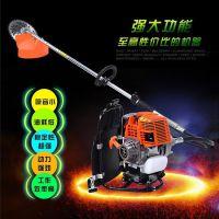小型多功能背负式汽油动力割灌机 山地梯田小型水稻收割机