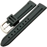 厂家开模定制硅胶手表带 平面开关生耳表带 表框连体电话手表腕带