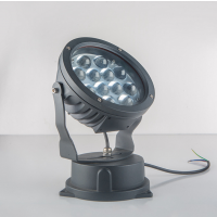 粤耀照明供应LED户外投光灯投射灯大功率七彩LED投光灯压铸铝射灯