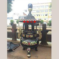 供应大型铸铁户外宝塔广东旅游景区宫殿宝鼎哪里购买