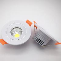 广东丰惠工厂直销 cob筒灯外壳配件压铸铝散热器塑料件天花筒灯外壳套件