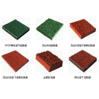 普定环保型人造草坪 PSP运动地板 PVC橡胶地板