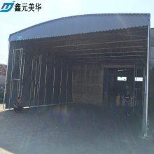 福州台江区定做各种伸缩活动雨篷 布立柱带轮雨棚 大型仓库堆货遮雨蓬 在线咨询