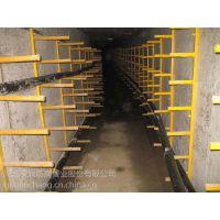 吉林通辽管廊用玻璃钢组合支架 螺钉式组合支架 金属电缆支架 电力金属电缆支架 玻璃钢电缆支架