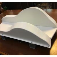 加工厂凹凸有型墙身乳白色铝方通加工每平米价格是多少?