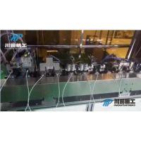全自动包铜箔机 数据线包铜箔机 USB包铜箔设备 数据线包铜箔设备-深圳市川田精工