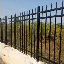 中山烤漆围墙栅栏 江门组装式防护围栏 惠州铸铁防爬隔离栅