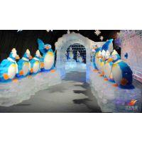 呼和浩特_冰雕企鹅租赁,笨笨的企鹅有多萌,看看就明白!