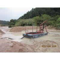 广西小型水库采沙机双动力8寸抽沙平台