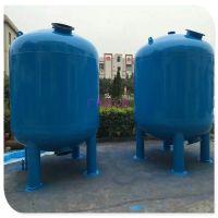 石英砂泥沙矿井水过滤罐Q235碳钢过滤罐南雄市污水处理罐广州清又清专业制造