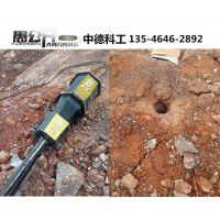 劈裂机修公路破坚硬石头用什么设备