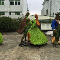 厂家直销 紫萱工艺品 仿真动物绿雕 景观绿雕装饰公园 广场 商场 可按要求订做园林景观