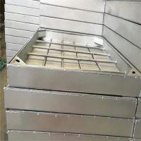 不锈钢方形雨水井盖带合页窨井盖 金裕