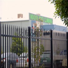 锌钢护栏厂家包安装 围墙栅栏组合栏杆 项目部蓝白色隔离围栏